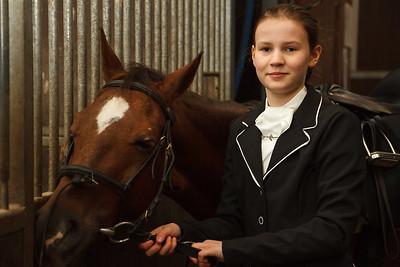 Lucelle Paardrijwedstrijd