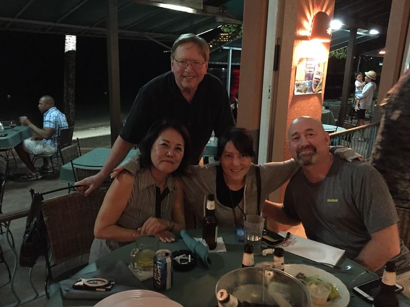 Hiroko, Jim, Su Jin, Mike Stokes