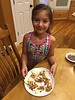 2016 0930 03 Kids at the apple slice and caramel topping bar