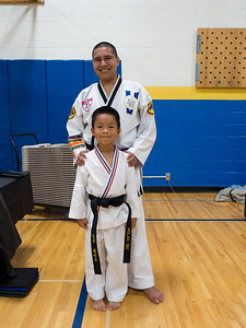 Mr. King with a new black belt