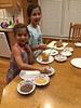 2016 0930 01 Kids at the apple slice and caramel topping bar