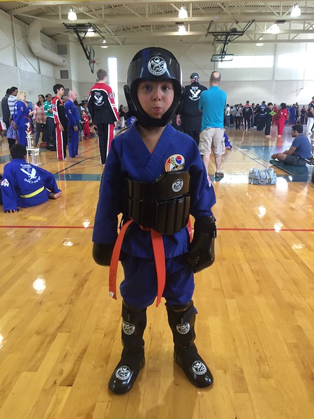 2016 0716 01 Hapkido Tournament -- Maya is ready to rumble