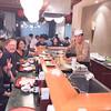 Emiko, Jim, Hiroko and Konda at his tempura restaurantp