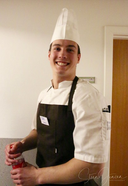 Julian efter Svendeprøven som kok