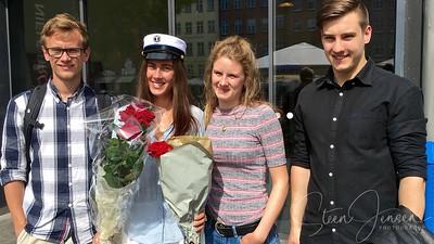 Pernille Student 2016, Frederik, Pernille, Laura & Julian.