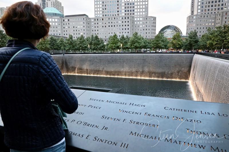 Helene ved Ground Zero