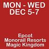 2016 Disney Slideshow Pt3 (Dec 5-7 / Mon-Wed)