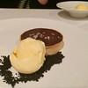 STICKY TOFFEE PUDDING: Creme Fraiche, Sweet Potato Ganache, Honey Comb, Dark Chocolate