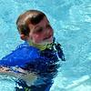 Refreshing swim for Wesley