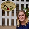 Beautiful as ever, Payton visits the College Street Cottage named for her!