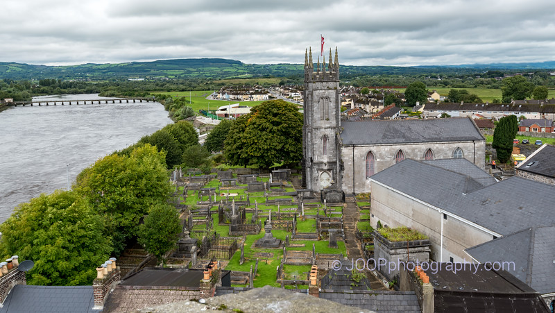 King John's Castle - View over the River Shannon