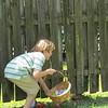 Matthew, Easter egg hunt at Grandpa and Grandma's, 4/16/2017