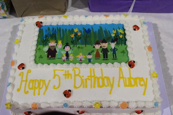 2017 Aubrey's 5th Birthday