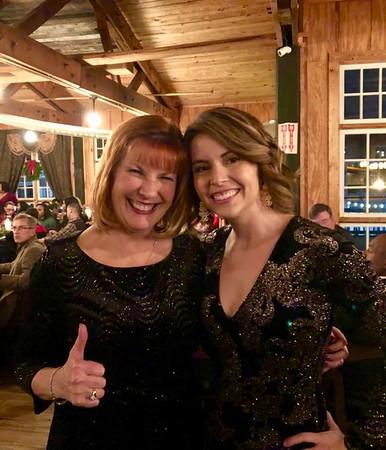 Ann Bellmor & Katie Belle At CVM Christmas Party 2017
