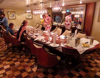 Chef's Table Dinner Allure of The Seas Cruise May 2017