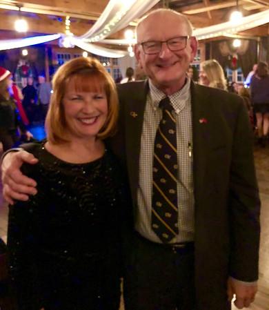 Ann & Russell Bellmor At CVM Christmas Party 2017