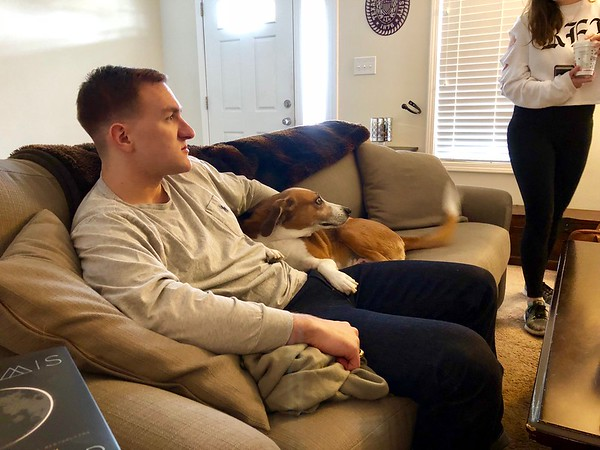 Morgan With Cooper New Bern Thanksgiving 2017
