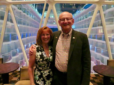 Ann & Russell Bellmor Chef's Table Allure of The Seas May 2017