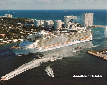 Royal Caribbean Allure of The Seas Port Everglades Florida