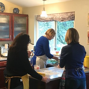 2017 December 2nd annual ravioli making party