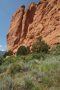 Large rock at Garden of the Gods, Colorado Springs