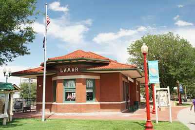 Lamar, CO railroad depot