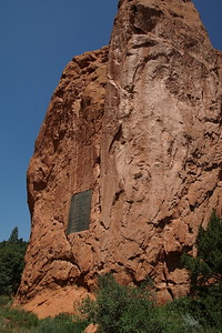 Large rock at Garden of the Gods