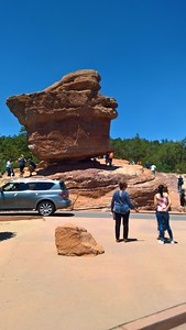 Balanced Rock at Garden of the Gods, Colorado Springs