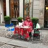 Brera district street life, Milan