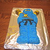 Bryan's 6th birthday cake, Jay Ninjago, made by Jenny, 7/8/2017