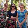 Flowery ladies--Frannie, Kara, and Diana
