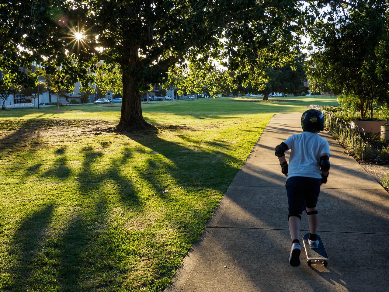 Park skater