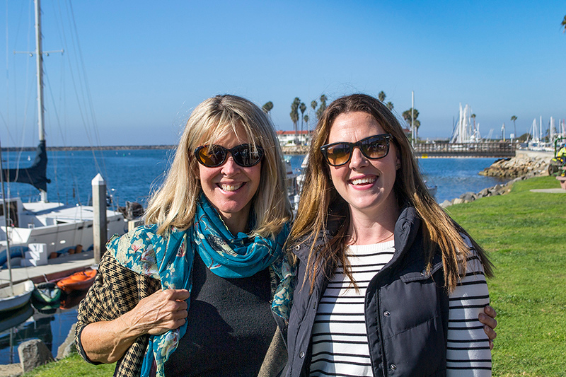 Mrs Mel and Mrs Harris aka Kelly!