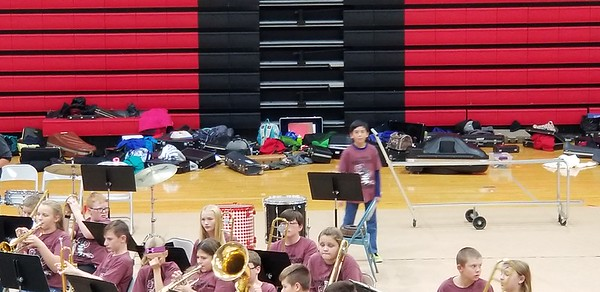 2017-10-27 Middle School Band Festival
