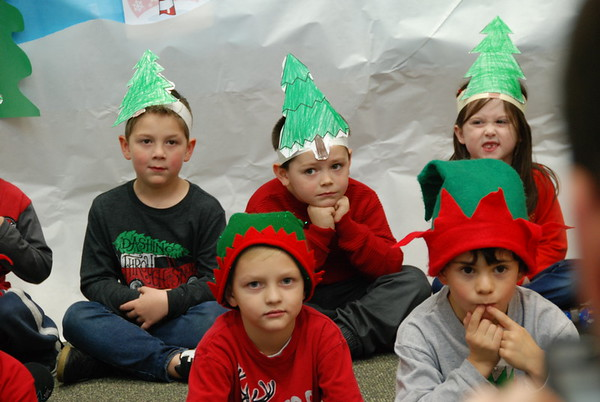 Cash's Kindergarten Christmas  Play