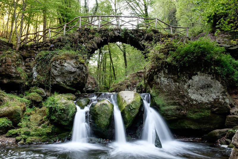 Schiessentumpel waterfall