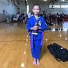 2017 0715 01 Maya at Karate Tournament