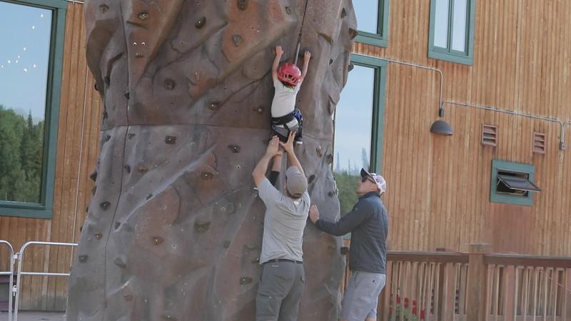 Jake's First Climb