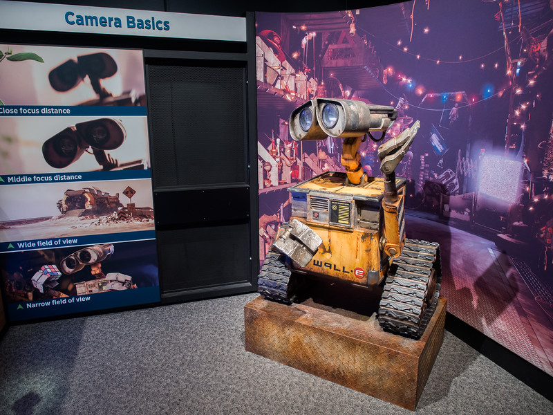 WALL-E, MN Science Museum