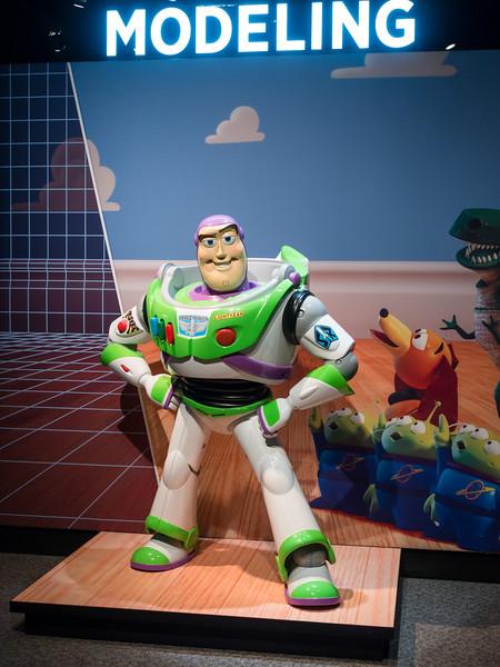 Science of Pixar exhibit, MN Science Museum