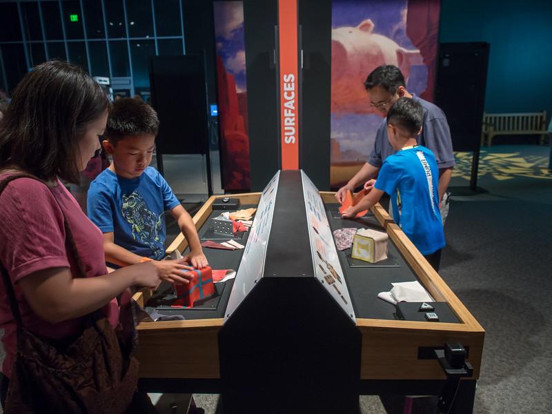 Nolan and Brandon, MN Science Museum