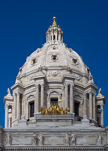 Mn State Capitol building in St. Paul