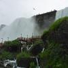 American Falls, Luna Island, Bridal Veil Falls - and the walkway climbs.
