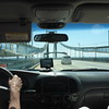 Crossing a bridge from Delaware into New Jersey