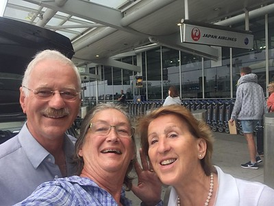 Barbara final selfie with Heinz and Hannelore!