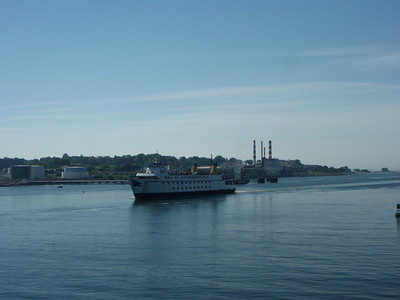 Ferry returning from Orient Point