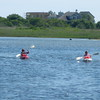 Barbara and Michelle went kayaking