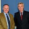 Guest Speaker: Lt Col Andrew Hart OBE (Retd) pictured with Brigadier General Paul A Pakenham (Retd), Chairman, Military Heritage Ireland Trust.
