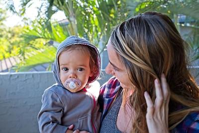 2018-05 Savannah's 1st Birthday Visit