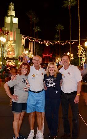 Ann & Russell Bellmor and Kathy Collier & Tom O'Barr Disney World December 2018 01
